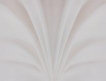 Priorità bassa di seta bianca Fotografia Stock Libera da Diritti