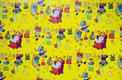 Priorità bassa di Sinterklaas Fotografia Stock