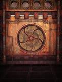 Priorità bassa di Steampunk illustrazione vettoriale