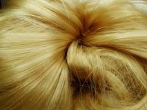 Priorità bassa di struttura dei capelli di punto culminante Fotografia Stock