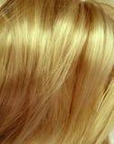 Priorità bassa di struttura dei capelli di punto culminante Immagine Stock