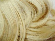 Priorità bassa di struttura dei capelli di punto culminante Fotografie Stock Libere da Diritti