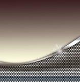 Priorità bassa di struttura del metallo Fotografia Stock