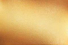 priorità bassa di struttura del metallo dell'oro illustrazione di stock