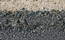 Priorità bassa di struttura dell'asfalto Fotografia Stock Libera da Diritti
