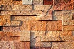 Priorità bassa di struttura della parete di pietra Fotografia Stock