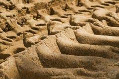 Priorità bassa di struttura della sabbia Fotografia Stock