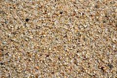 Priorità bassa di struttura della sabbia Fotografie Stock Libere da Diritti