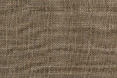 Priorità bassa di struttura della tela da imballaggio tela da imballaggio marrone come struttura immagini stock