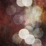Priorità bassa di struttura di effetto delle luci dell'annata Fotografie Stock Libere da Diritti