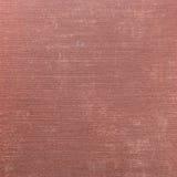 Priorità bassa di tela rosso-cupo naturale di struttura di Grunge Fotografia Stock Libera da Diritti