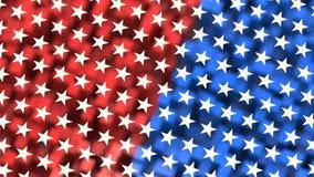 Priorità bassa di tema della bandiera americana Immagine Stock