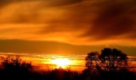 Priorità bassa di tramonto Immagini Stock Libere da Diritti