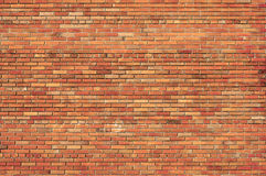 Priorità bassa di un muro di mattoni. Immagini Stock