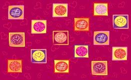 Priorità bassa di Valentinei illustrazione di stock