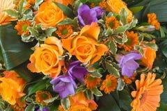 Priorità bassa di vari fiori Immagine Stock Libera da Diritti