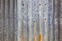 Priorità bassa di vecchia lamina di metallo Fotografia Stock Libera da Diritti