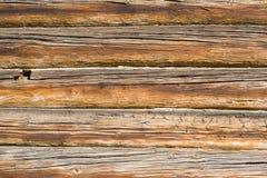 Priorità bassa di vecchia parete di legno Immagini Stock Libere da Diritti