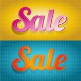 Priorità bassa di vendita Immagine Stock