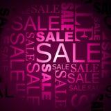 Priorità bassa di vendita di vettore Fotografia Stock