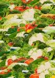 Priorità bassa di verdure Immagini Stock Libere da Diritti