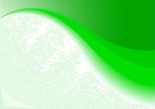 Priorità bassa di vettore su colore verde Fotografia Stock Libera da Diritti