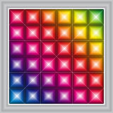 Priorità bassa di visualizzazione del LED (vettore) Fotografia Stock