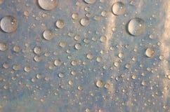 Priorità bassa di Waterdrops fotografia stock