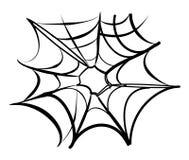 Priorità bassa di Web di ragno Immagini Stock