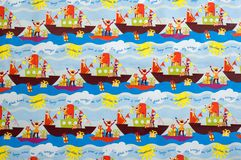 Priorità bassa di Zwarte Piet Fotografia Stock Libera da Diritti