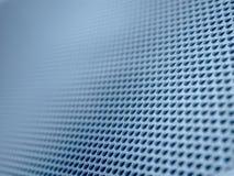 Priorità bassa diagonale blu di griglia Fotografia Stock Libera da Diritti