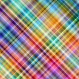 Priorità bassa diagonale del mosaico dei pixel multicolori. Fotografia Stock