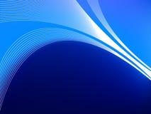 Priorità bassa eccellente, fresca, blu scuro. illustrazione vettoriale
