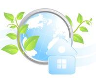 Priorità bassa ecologica illustrazione di stock
