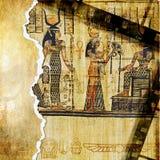 Priorità bassa egiziana Fotografia Stock