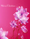 Priorità bassa elegante di Buon Natale Fotografie Stock Libere da Diritti