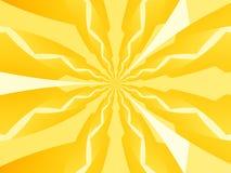 Priorità bassa elettrica gialla Immagine Stock