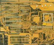 Priorità bassa elettronica industriale verde Immagine Stock Libera da Diritti