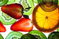 Priorità bassa esotica della frutta Fotografia Stock Libera da Diritti