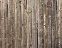 Priorità bassa esposta all'aria delle schede di legno Fotografia Stock