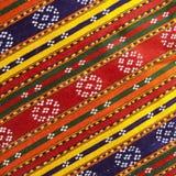 Priorità bassa etnica della tessile di colore Fotografia Stock Libera da Diritti
