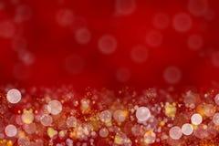 Priorità bassa fantastica rossa. Fotografia Stock