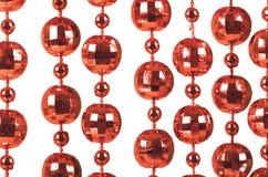 Priorità bassa fatta dell'branelli rossi brillanti Immagini Stock Libere da Diritti