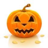 Priorità bassa felice della zucca di Halloween Immagini Stock