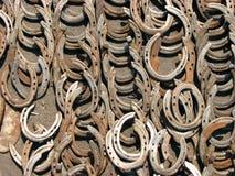 Priorità bassa a ferro di cavallo fotografia stock