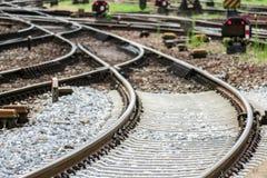 Priorità bassa ferroviaria Fotografia Stock