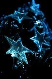 Priorità bassa festiva degli indicatori luminosi. Fotografia Stock
