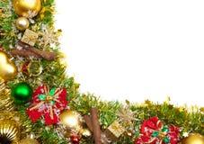 Priorità bassa festiva di natale decoration.card Immagini Stock