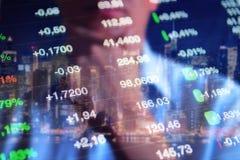 Priorità bassa finanziaria Immagine Stock