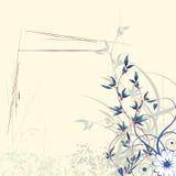 priorità bassa floreale astratta Fotografie Stock